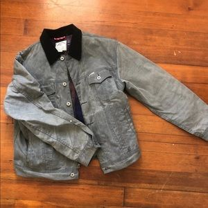 iron and resin rambler canvas jacket